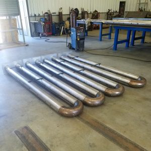 Fabricated & Cast Radiant Tubes by Simpson Alloy Services, Elizabeth, Indiana